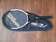"Wilson Hammer 6.2 Stretch Tennis Raquet 110 sq.in. 4 1/2"" w/ Case"