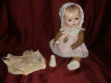 Sweet 15� Molded Hair Vintage American Character Tiny Tears Baby Doll