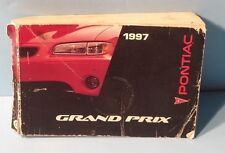 97 1997 Pontiac Grand Prix owners manual