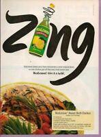 1998 Magazine Print Advertisement Page ReaLemon Lemon Juice Food Recipe Ad