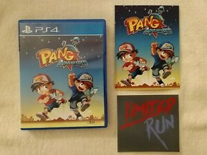 Pang Adventures (Sony PlayStation 4, 2017) COMPLETE with EXTRAS