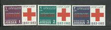 Jordanien 1963 Rotes Kreuz postfrisch s.Scan