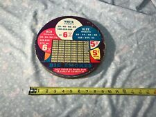 Vintage Big Smokes Punch Board Game 5 cent
