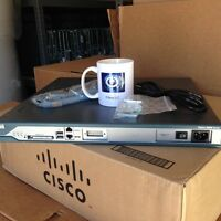CISCO 2811 Router IOS 15.1 (3) T4 CME 8.5 512D/256F CCNA CCNP CCVP CCIE *Qty Av*