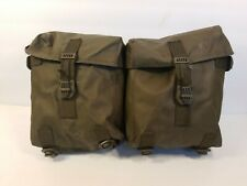 Swiss Army 2 pocket belt pack pouch rubberized ammo supplies