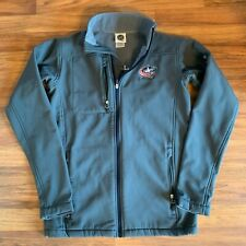 NHL S Gray Columbus Blue Jackets Zip Up Jacket