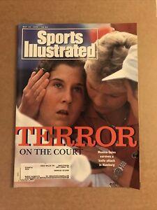 Sports Illustrated Magazine May 10, 1993 Monica Seles Stabbing Tennis