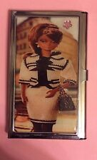 Coco Chic Black Barbie Business Card Holder Credit Card I.D. Case
