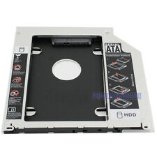 For Universal Apple Macbook Pro Optical bay 2nd HDD Hard Drive Caddy SATA 9.5mm