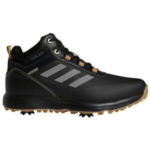 2021 adidas Mens S2G Mid Golf Boots Spiked Waterproof Shoes Breathable Winter
