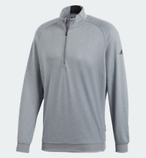 Adidas Golf Pullover Mens Large Authentic UV Protection Sweatshirt New Gray