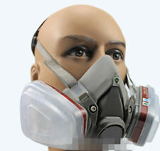 Half Respirator Painting Spraying Face Gas Mask Suit Activated carbon