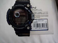 Rare Casio G Shock, 'Blue Jelly' Frogman GW-202K-2, Dolphin and Whale model.