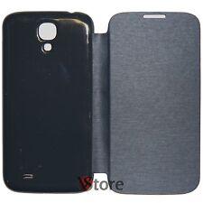 Custodia Cover Flip Per Samsung Galaxy S4 I9500 Nero Copri batteria + Pellicola