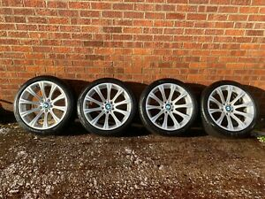 BMW M5 E60 E61 '19' STYLE 166 M ALLOY WHEELS WITH TYRES OEM