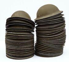 Original Canadian WWII Helmet Shells Brodie Mk. II Ex-Solway Hoard