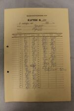 Soviet Score Sheet. Furman –Petrosyan. 37th USSR Chess Championship. 1969