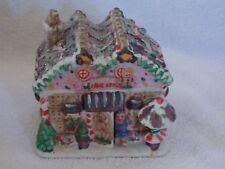 Greenbrier International Inc Ceramic Christmas Lighted Gingerbread House