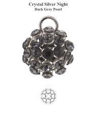 Genuine Swarovski Crystal Mesh Ball Beads - Various Colors & Sizes