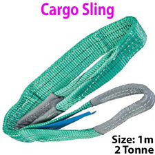 1 m - 2 T (2000 kg) Plat Sangle Forte Cargo Sling-Levage Grue palan Sangle