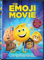 The Emoji Movie (DVD, 2017) New  Free shipping