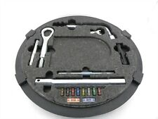 Complete Factory Emergency Spare Tire Tool Kit Set Tow Hook for 00-06 S500 W220