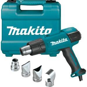 Makita Corded Heat Gun 13-Amp Variable Speed Temperature Switch Handle Case