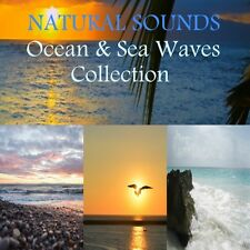 4 X CD's: NATURAL SOUNDS COLLECTION FOR SLEEP, STRESS, YOGA, DEEP RELAXATION