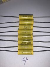 Mallory Polyester Film Capacitors .1 Μf 400 V 5% Tolerance Quantity Of 8 New
