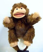 "Folktails Furry Folk Hand Puppet Plush Chimpanze Monkey 9"""