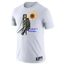 New Nike Golden State Warriors Flip Pagowski Collab Cartoon Illustration Shirt