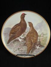 Gamebirds of the World Franklin Porcelain by Basil Ede Red Grouse 1979