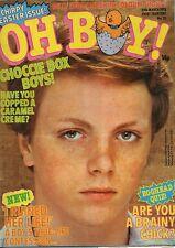 Oh Boy! Magazine 25 March 1978 No.70  Billy Idol  John Travolta  James Stevenson
