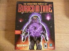 El proyecto 2 enterrados en tiempo jornalero PC CD ROM Original Caja Grande -