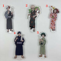 Anime Boku no Hero Academia Acrylic keychain Key Ring Race Straps cosplay