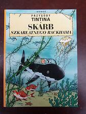 Tintin -  Le trésor de Rackham le rouge en POLONAIS Egmont 2009 NEUF!