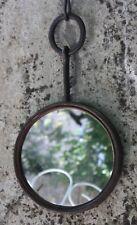 miroir en fer forgé rond