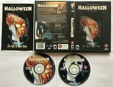 Halloween - 2-Disc Region 2 DVD John Carpenter inc Lenticular Art & Booklet