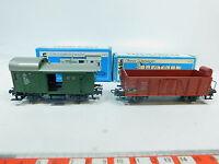 AW903-0,5# 2x Märklin/Marklin H0/AC Gepäckwagen/Güterwagen DB: 4699+4601, OVP