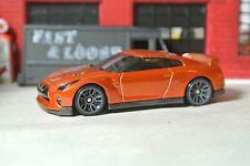 Hot Wheels Loose '17 Nissan GT-R (R35) - Burnt Orange - 1:64