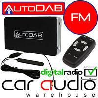 AUTODAB FM - Universal Hideaway Add On Car DAB DAB+ Digital Radio Tuner Receiver