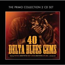 Various Artists - 40 Delta Blues GEMS NUEVO CD
