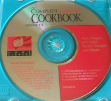 Interactive CD-Rom Cookbook Compton's Home Library Version 1.1 DISC ONLY #C455