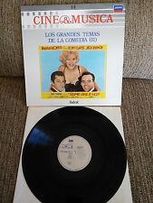 "LOS GRANDES THÈMES DE COMÉDIE II BANDE ORIGINALE LP VINYLE 12"" 1987 VG VG+"