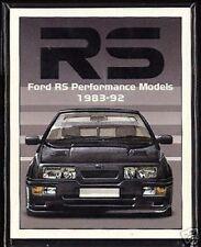 FORD RS PERFORMANCE MODELLI 1983-92 COLLECTORS CARTA Set - Escort Fiesta Sierra