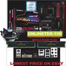 i5 7600k CPU GIGABYTE Z270X ULTRA GAMING MB +16GB DDR4 3000 MEMORY PC BUNDLE