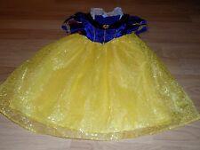 Size Small 6-6X Walt Disney World Parks Princess Snow White Costume Dress EUC
