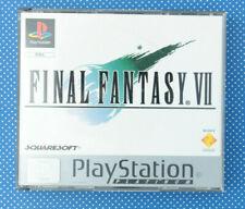 Final Fantasy VII (Sony PlayStation 1, 1999, Keep Case)
