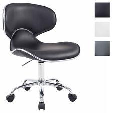 Tabouret Chaise de Travail Ergonomique  LAS VEGAS V2 Similicuir Hauteur Réglable