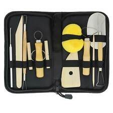 Us Art Supply Pottery and Clay and Sculpting Tools 12 Piece Set Ceramics w/ Case